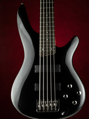 Five string electric bass