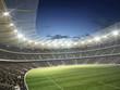 Leinwanddruck Bild - Stadion