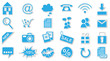 Webseite Icons/Buttons Set