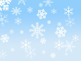 Fototapety Snow flake design
