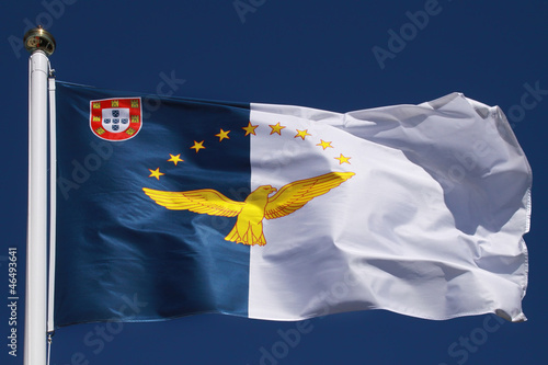 Flag of the Azores Islands