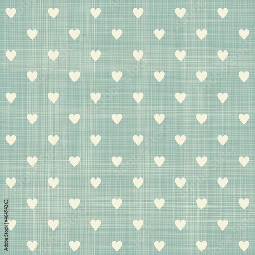 In de dag Kunstmatig seamless hearts pattern