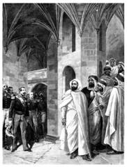 Emperor Napoleon III & Abd el-Kader - 19th century