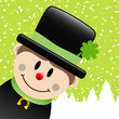 Chimney Sweep Winter Forest