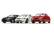 White Black And Red Cars