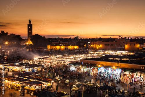 Marrakesch, Djemaa el Fna, Marokko - 46495683