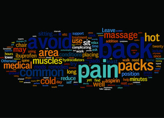 Methods for Treating Common Back Pain