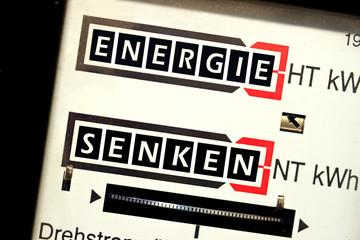 Energie senken