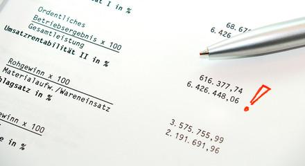 Unternehmens-Bilanz