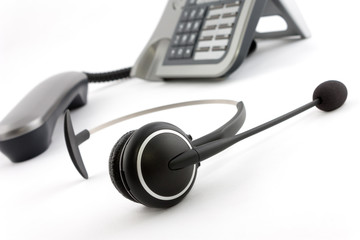 Ip phone headphone