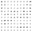 100 Icons // Website Iconset