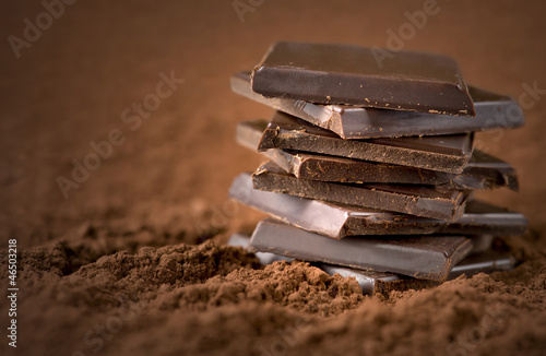Stacked chocolate bars - 46503218