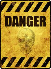 Danger Schild