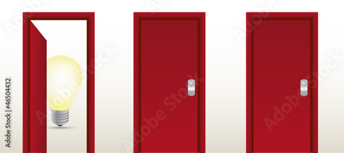 door leading to great ideas