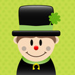 Chimney Sweep Clover Background