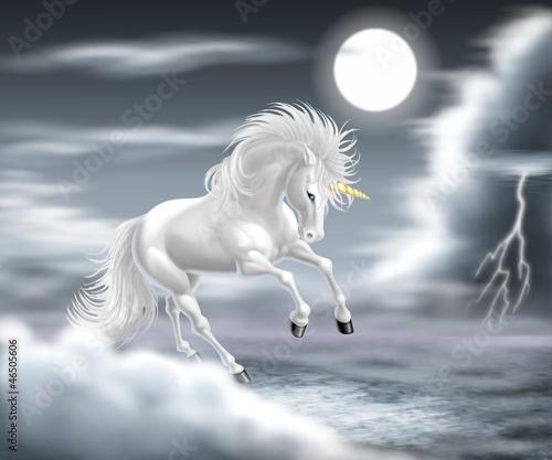 Fototapeten,einhorn,pferd,weiß,pferd