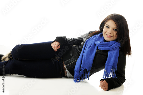 Young Teen Reclined