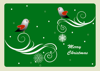 Greeting card - Christmas theme