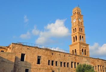 Khan Al Umdan in Old City of Arce,Israel