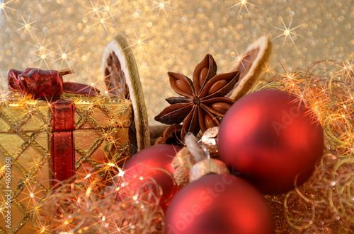 canvas print picture Weihnachtsmotiv