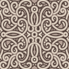 Vintage embroidery pattern, seamless texture