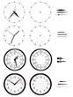 Horloges différents styles - 46511240