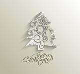 Fototapety christmas tree, design, vector illustration.