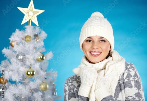 Cheerful female