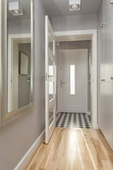 Stylish corridor