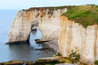 Cliffs of Etretat, Normandy, France