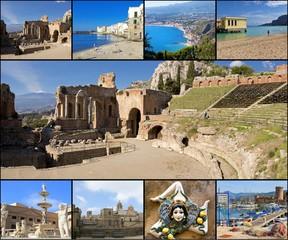 Collage - Sicily