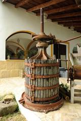 Prensa para elaborar vino
