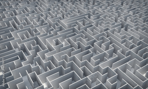 Maze. Make a decision. Achieving the goal.Encounter difficulties