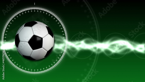Soccer Ball Sport Background 01 (HD)