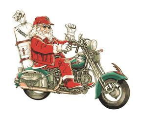 サンタ・バイク