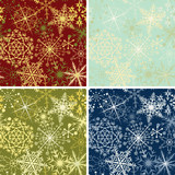 Fototapety Snowflakes backgrounds