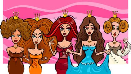 Fantasy Princesses or Queens