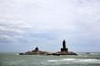 Leinwanddruck Bild - landscape of Vivekananda Memorial