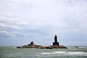 landscape of Vivekananda Memorial