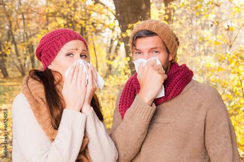 zusammen krank