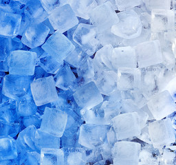 fresh cool ice cube background