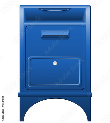mailbox icon vector illustration