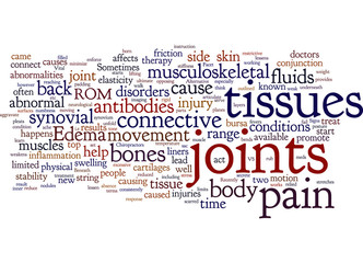 joints and connective tissues and back pain