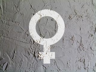 Male sign drawn at wall