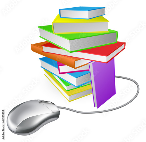 Book stack computer mouse