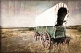 Fototapety Chariot western vintage