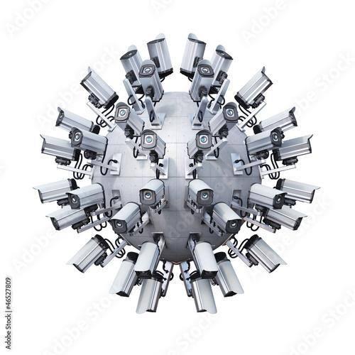 security cameras spherical - 46527809