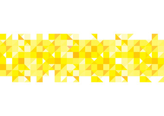 Yellow pattern background