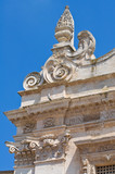 Mother church. Galatina. Puglia. Italy.