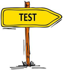 Test - Prüfung